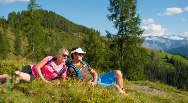 Singletrail Groarl: Downhill-Biken im Salzburger Land